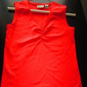 Chicos orange tank size 0
